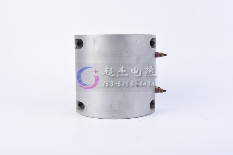 铸铝电加热圈的固定安装